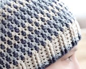 Hail Storm Beanie Crochet Pattern - Adult Sizes
