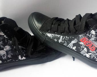 The Walking Dead shoes - Customised sneakers - Star Wars shoes - Galaxy shoes - Marvel shoes - Disney shoes - Adults & Kids available!