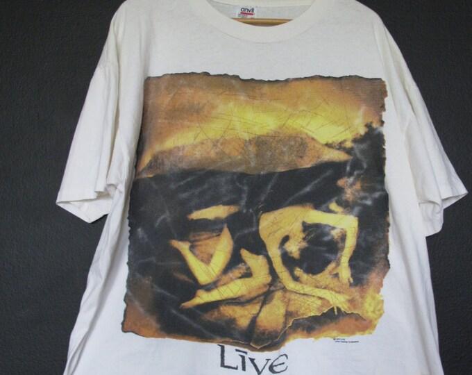 Live 1992 vintage Tshirt Brockum