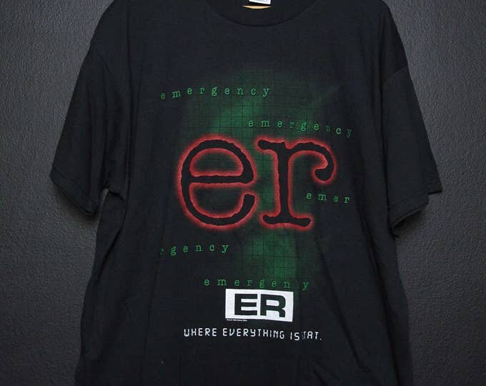 E.R Where Everything is Stat 1995 vintage Tshirt