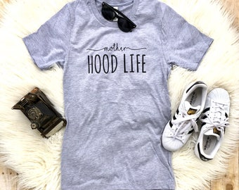Mother Hood life shirt, Mom of toddlers tee , Funny shirts, Trendy mom shirt, Funny Mom Shirt, New Mom Gift, Gift for Mom, Mothers Day Gift