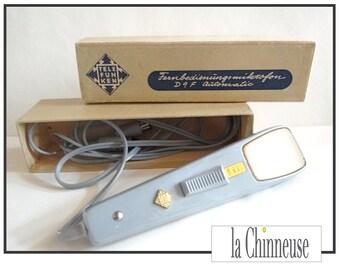 TELEFUNKEN VINTAGE MICROPHONE / microphone Telefunken D9F / former Telefunken Microphone.