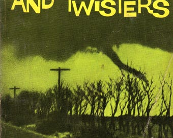 Hurricanes and Twisters by Robert Irving, 8th Print, 1971, Scholastic Books