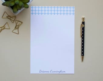 Personalized Notepad / UNC Notepad / Carolina Notepad / Monogram Notepad