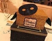 Two-Tier Card Box Glitter...