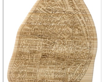 St. Louis Engraved Cutting Board