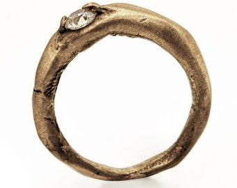 Engagement Ring I // brass // SAVVY jewellery