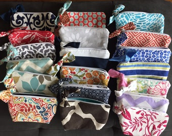 Bow Cosmetic Bags