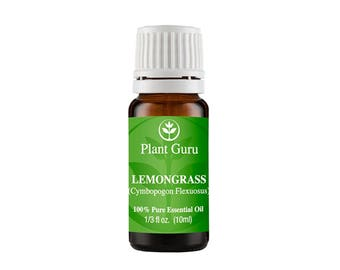 Lemongrass Essential Oil  100% Pure, Undiluted, Therapeutic Grade.