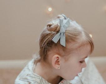 Baby Hair Bows - Fog of London - Hair Bows - Pigtail Set