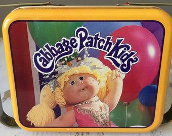 Vintage Cabbage Patch Kids Tin~~~~80's