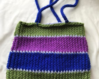 SALE** Green, Purple, Blue and Gray purse/bag