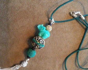 Elephant Dreams Pendant Necklace