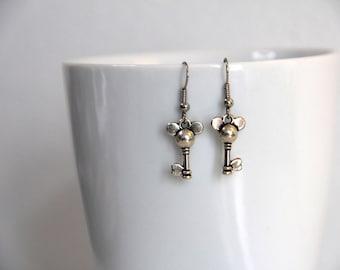 Mickey Mouse Disney Dangle Earrings - Cute - Accessories - Nerdy - Geeky