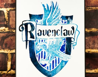 House Ravenclaw: Harry Potter Art