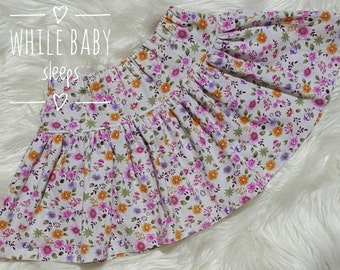 Twirly Skirt Size 3 Floral Small