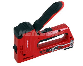 4 in 1 Heavy Duty Staple Gun, Use heavy or Light Duty Staples And 18 Gauge Brad Nails, Insulation, Carpeting And Upholstery CT4250