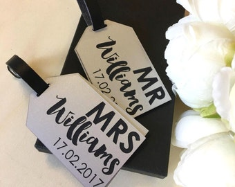 Items Similar To Luggage Tags Mini Wedding Travel