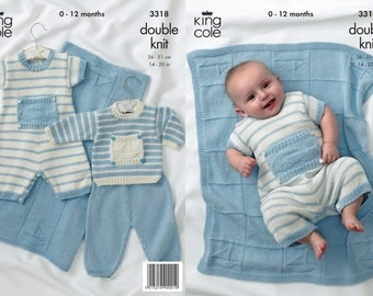 Little Boy Blue Knitting Pattern