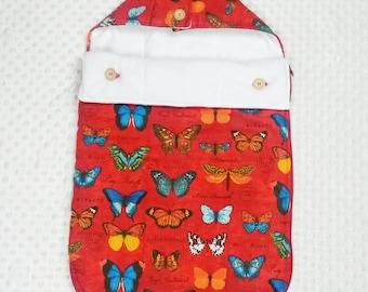 Baby sleeping bag, newborn sleeping sack, stroller footmuff