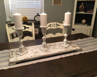 Wood Table Tray-Farmhouse Style-Farmhouse Table Decor-Rustic Wood-Home-Accents-Decor