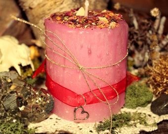 Altar candles - ritual candle - love spell candle - love candle - love spells