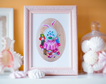 Mad tea party limited edition prints