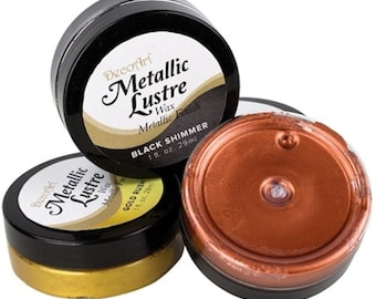 DecoArt Metallic Lustre Wax Metallic Finish