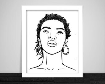 Lauryn Hill Print