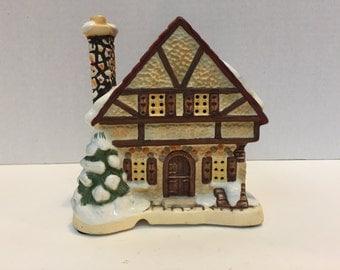 "Hummel ""Village Bakery"" Numbered Sculpture, Ceramic House, 16010"