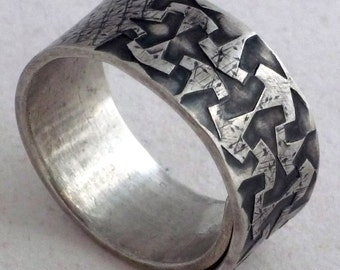 Silver Ring Alhambra Collection