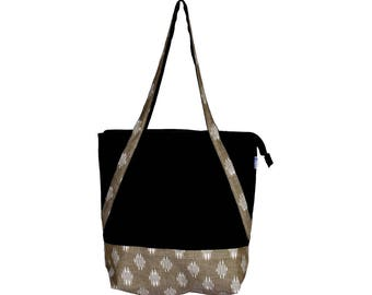 MALA Canvas and Ikkat cotton eco friendly Reusable Hand Bag