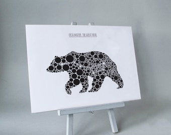 Ursa Major: The Great Bear A4 Print