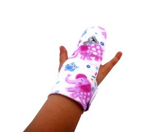 Finger guard,help children remember not to suck fingers, washable finger glove