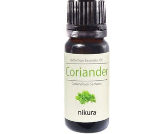100% Pure Coriander Seed Essential Oil 10ml