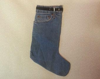 Denim Stocking Light Blue