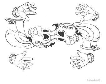 Coloring Page. Original Artwork by Jake Thornburg.