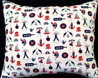 Nautical Pinup Pillow
