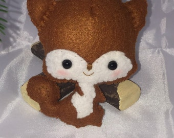 Noialand Felt Squirrel Ornament