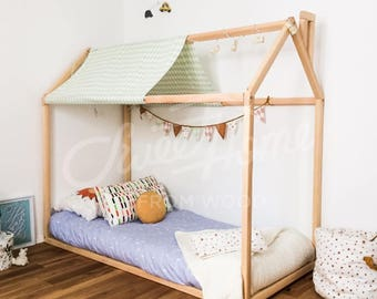 Kids Bedroom House kids bed | etsy