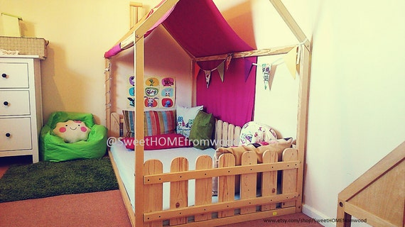 Toddler Bed 160x70 80cm House Bed Children By