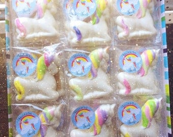 Unicorn soap, Body soap, Favours, gifts, kids, Teen , party gift, stocking fillers , birthday  45g