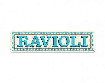 Blue Ravioli