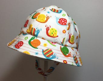 Baby Sun Hat -  Baby Boy Sun Hat - Baby Hat - Baby Girl Hat - Toddler Hat - Baby Girl Sun Hat