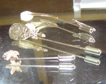 E-94 Vintage  Brooch pins