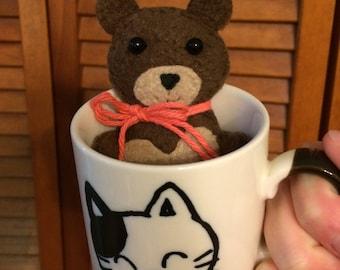 Mini Brown Bear Cinnamon Sachet