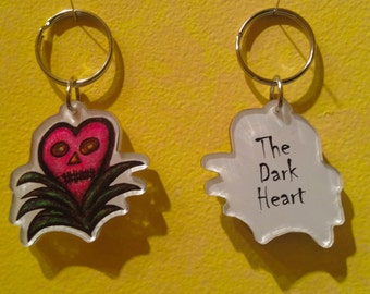 The Dark Heart Keychain