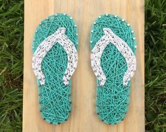 MADE TO ORDER Flip Flop String Art Board