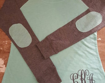 Preppy Patch Personalized Tees/Monogram/Spirit Jersey
