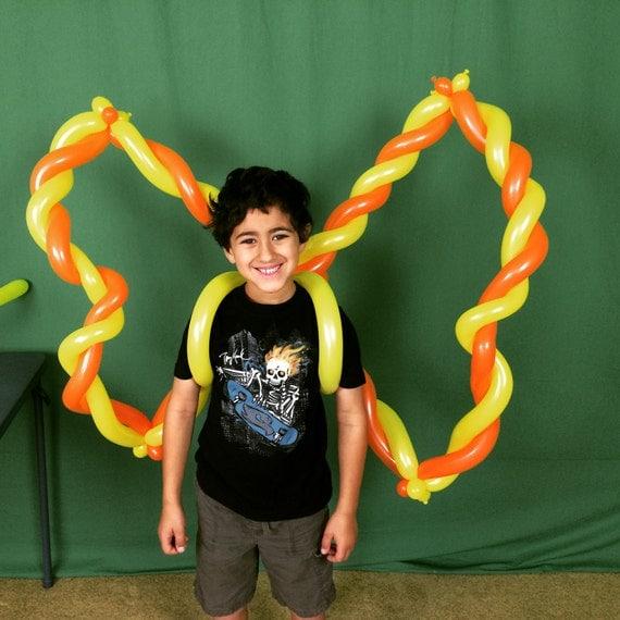 Butterfly Balloon Costume Tutorial from DiyBalloonArt on ...